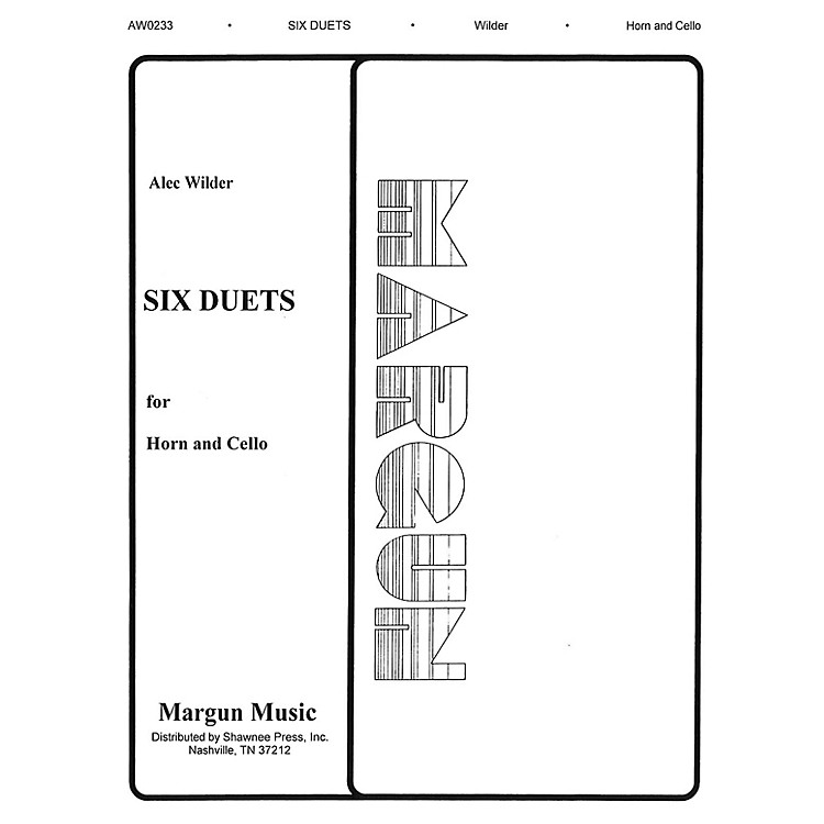 Margun Music6 Duets for Horn and Cello Shawnee Press Series