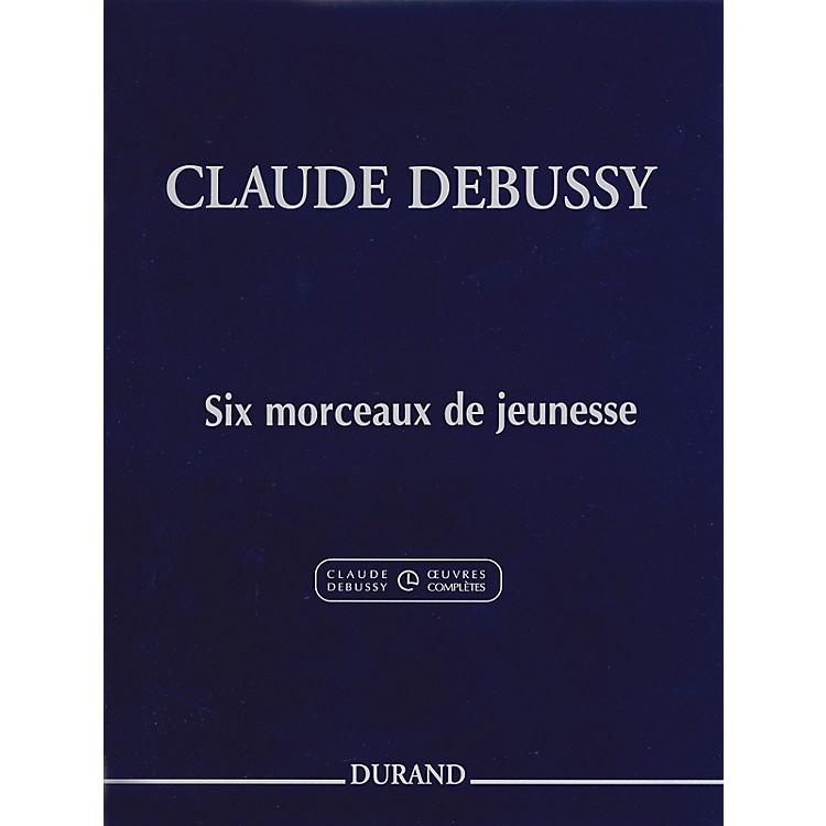Editions Durand6 Morceaux De Jeunesse Editions Durand Series Softcover