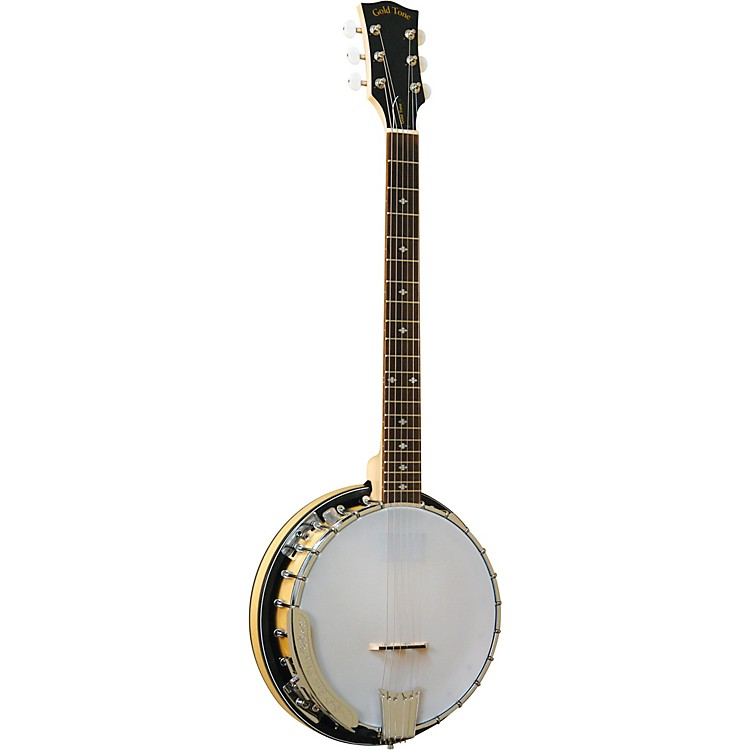 Gold Tone6-String Banjitar For Left Hand PlayersGloss Natural