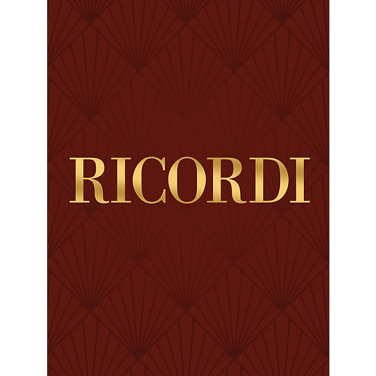 Ricordi 6 Studi Da Concerto (Piano Solo) Piano Large Works Series Composed by Franz Liszt