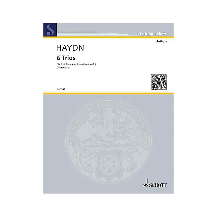 Schott Music6 Trios Schott Series Composed by Joseph Haydn