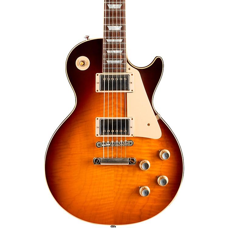 Gibson Custom'60 Les Paul Standard VOS 2018 Electric GuitarDark Bourbon