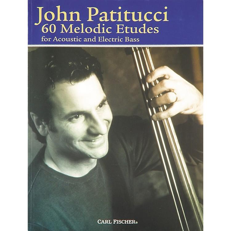 Carl Fischer60 Melodic Etudes for Bass Book