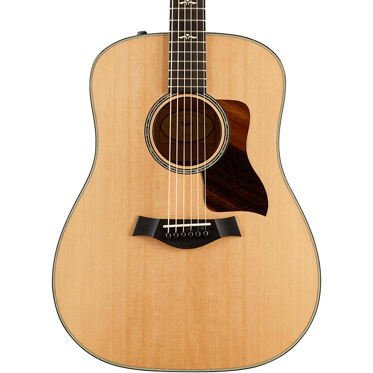 Taylor600 Series 610e First Edition Dreadnought Acoustic-Electric GuitarNatural