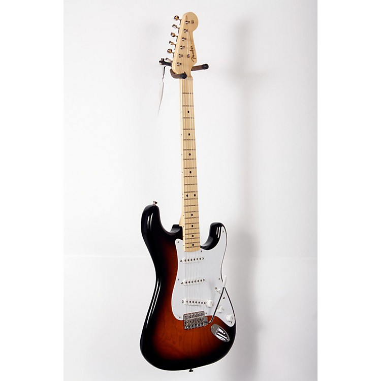 Fender 60th Anniversary American Vintage 1954 Stratocaster Electric Guitar 2-Color Sunburst, Maple Fingerboard 888365799896