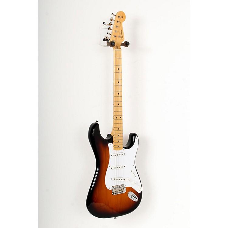 Fender60th Anniversary American Vintage 1954 Stratocaster Electric Guitar2-Color Sunburst, Maple Fingerboard888365771915