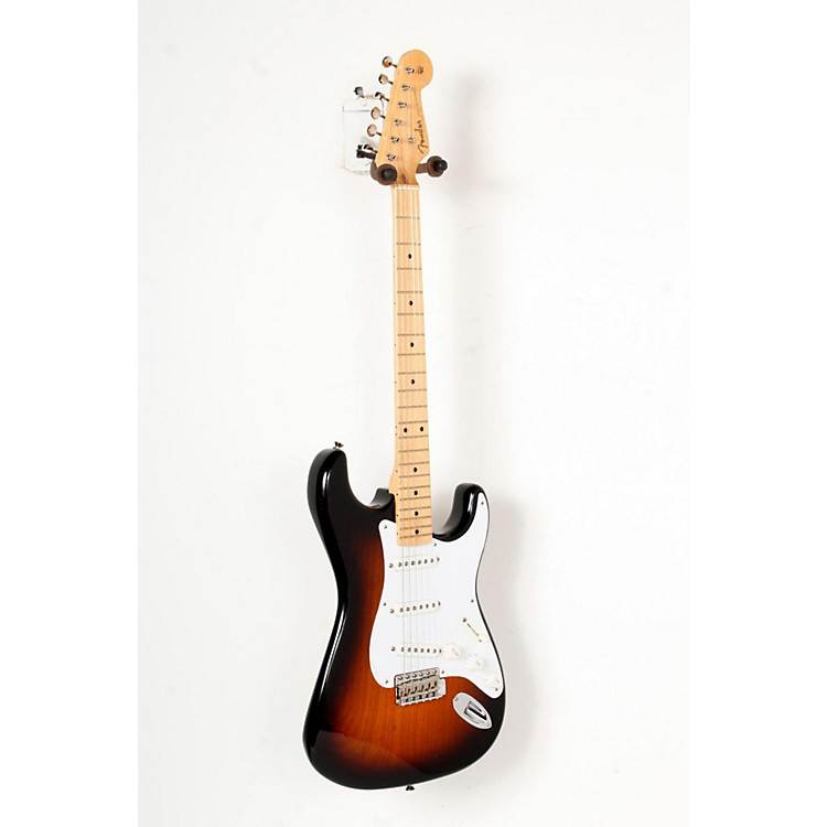 Fender 60th Anniversary American Vintage 1954 Stratocaster Electric Guitar 2-Color Sunburst, Maple Fingerboard 888365793719