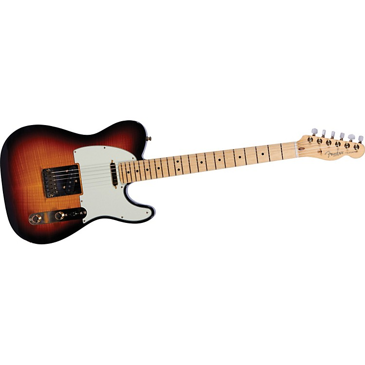 Fender60th Anniversary Flame Top Telecaster Electric GuitarAntique Burst886830669248