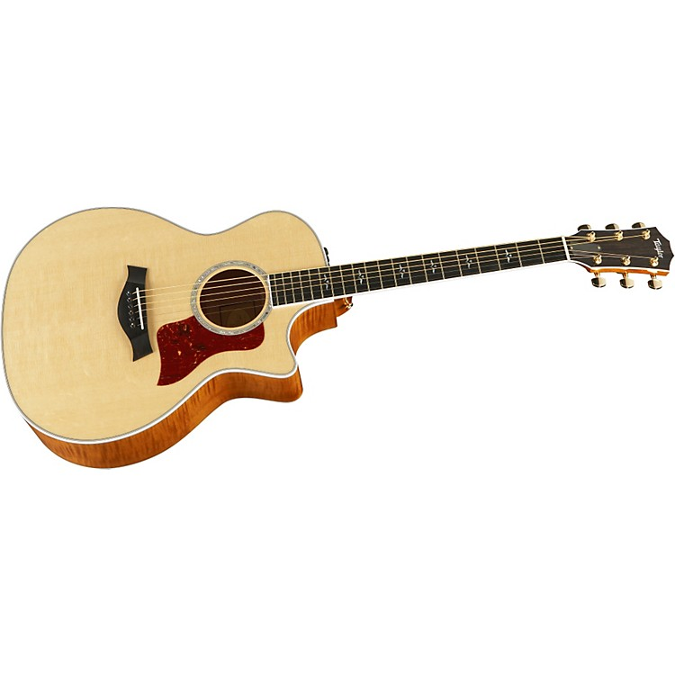 Taylor614-CE Grand Auditorium Cutaway Acoustic-Electric Guitar (2011 Model)Natural