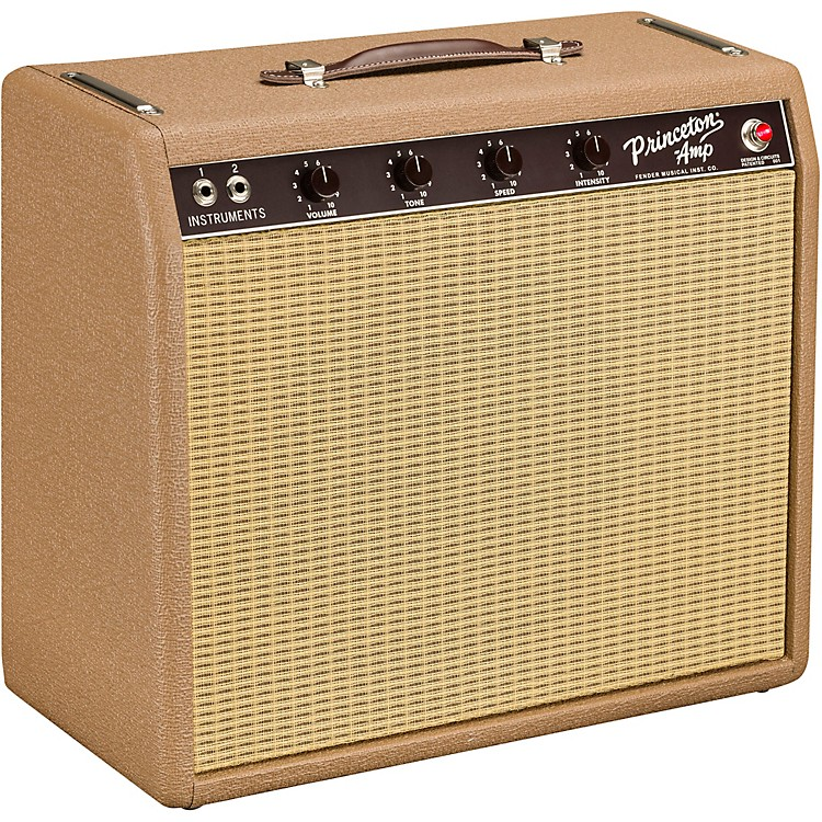 Fender'62 Princeton Reverb Chris Stapleton Edition 12W 1x12 Tube Guitar Combo AmpBrown