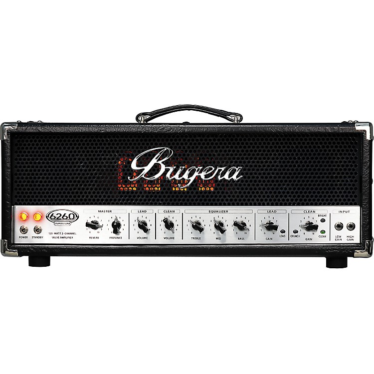 Bugera 6260 120W 2-Channel Tube Guitar Amp Head
