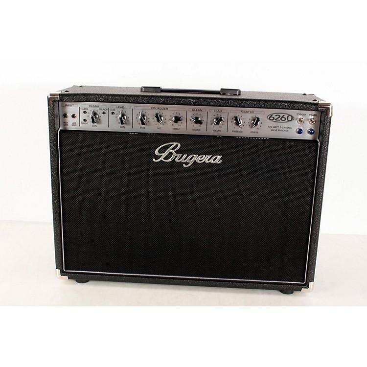 Bugera 6260 120W 2x12 2-Channel Tube Guitar Combo Amp with Reverb  888365491264