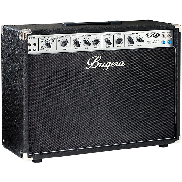 Bugera 6260 120W 2x12 2-Channel Tube Guitar Combo Amp with Reverb  888365523941