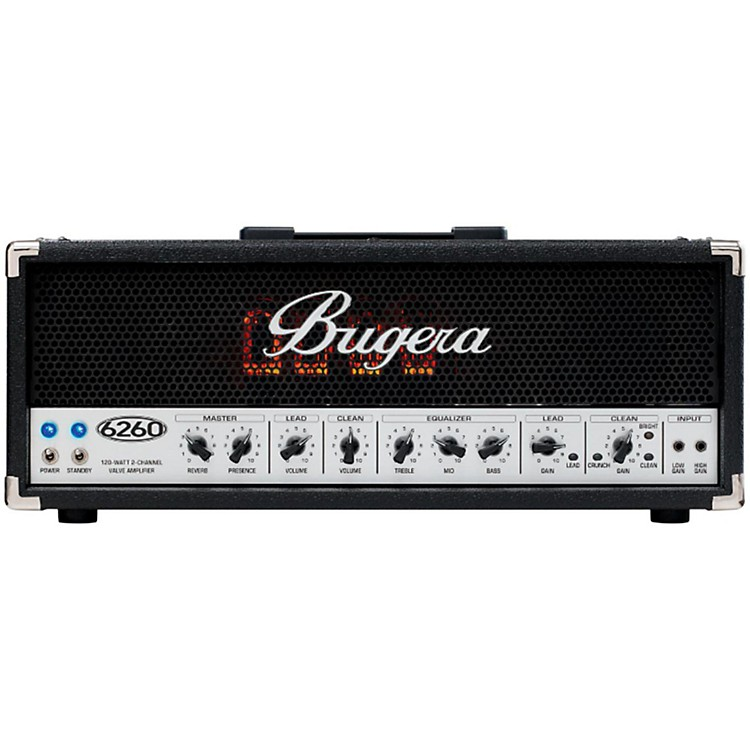 Bugera 6260 120W Tube Guitar Amp Head  888365526386