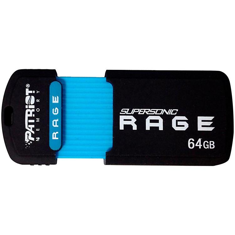 Patriot64GB Supersonic Rage XT USB 3.0 Flash Drive