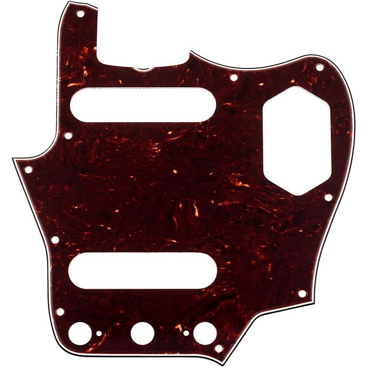 Fender65 Jaguar Pickguard, 4-Ply, Brown Shell