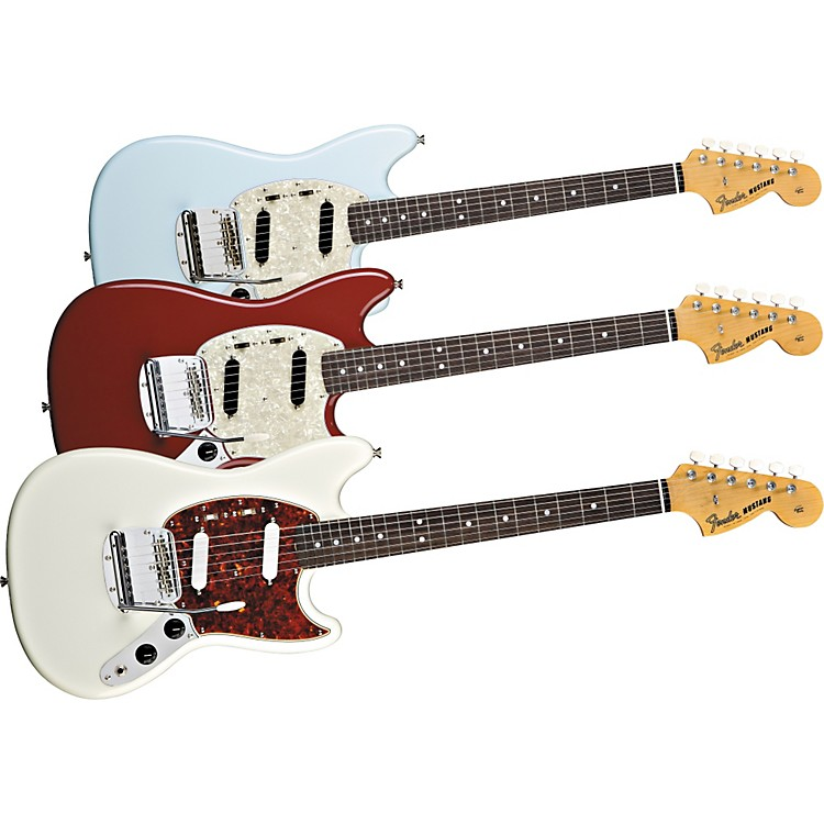fender 39 65 mustang reissue electric guitar music123. Black Bedroom Furniture Sets. Home Design Ideas