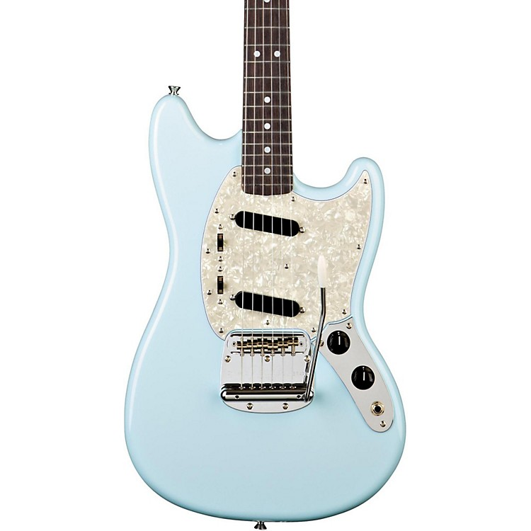 Fender '65 Mustang Reissue Electric Guitar Daphne Blue