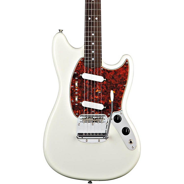 Fender'65 Mustang Reissue Electric GuitarOlympic White