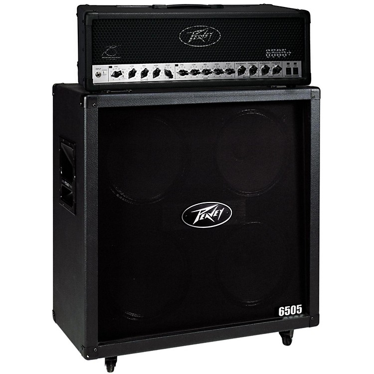 peavey 6505 120w guitar head with 6505 4x12 300w cabinet straight music123. Black Bedroom Furniture Sets. Home Design Ideas