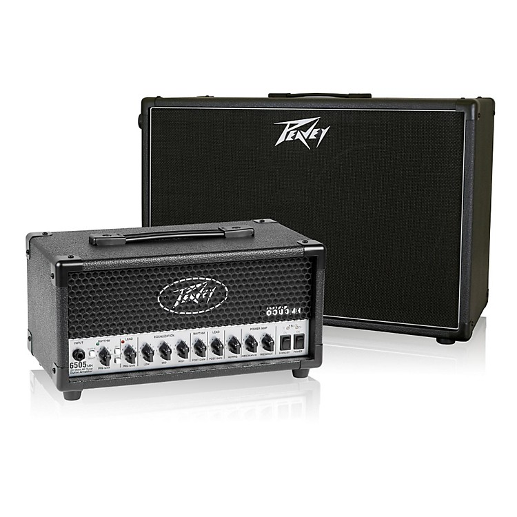 peavey 6505 mh micro 20w tube guitar amp head with 212 6 50w 2x12 cabinet music123. Black Bedroom Furniture Sets. Home Design Ideas
