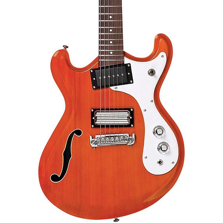 Danelectro'66 Classic Semi-Hollow Electric GuitarTransparent Orange