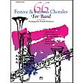 Alfred 66 Festive and Famous Chorales for Band Percussion Snare Drum Bass Drum