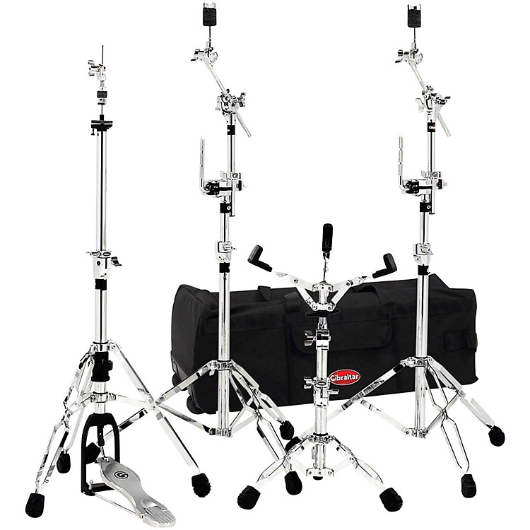 Gibraltar6700 Gig Pack Drum Hardware Pack with 33 in. Rolling Bag