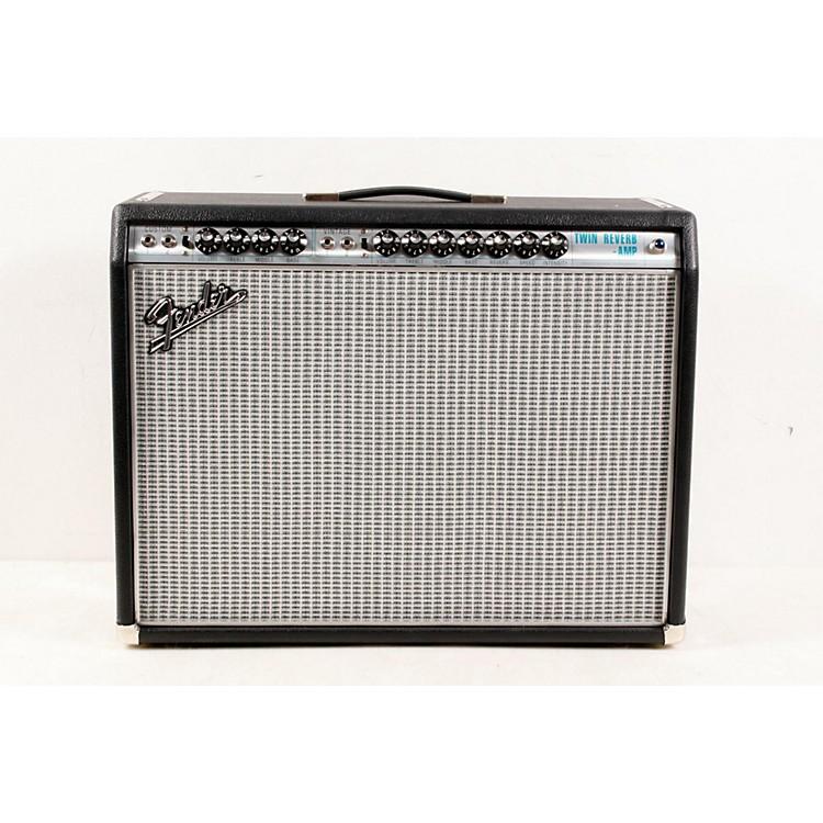 Fender'68 Custom Twin Reverb 85W 2x12 Tube Guitar Combo Amp with Celestion G12V-70s SpeakerBlack888365699134