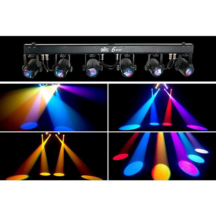 Chauvet DJ6SPOT LED Color-Changer Lighting System