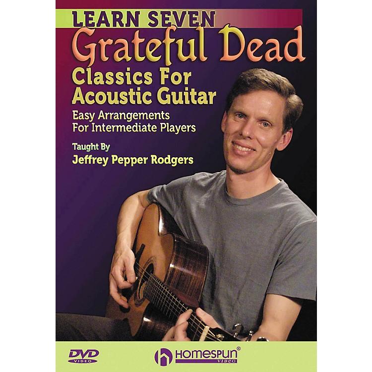 Homespun7 Grateful Dead Classics for Acoustic Guitar: Easy Arrangements for Intermediate DVD