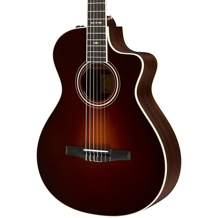 taylor 700 series 2014 712ce n grand concert acoustic electric nylon string guitar music123. Black Bedroom Furniture Sets. Home Design Ideas