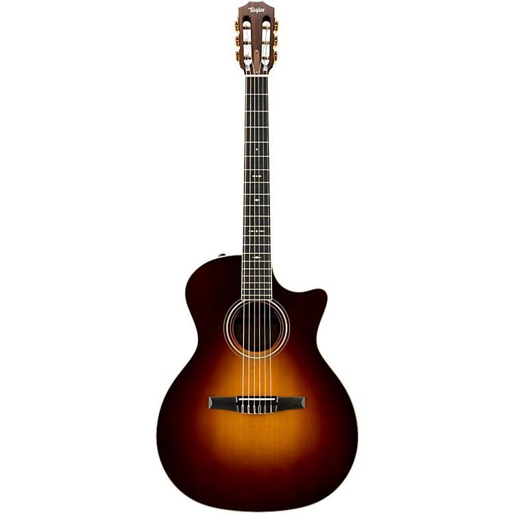 Taylor700 Series 2014 714CE-N Grand Auditorium Acoustic-Electric Nylon String GuitarVintage Sunburst
