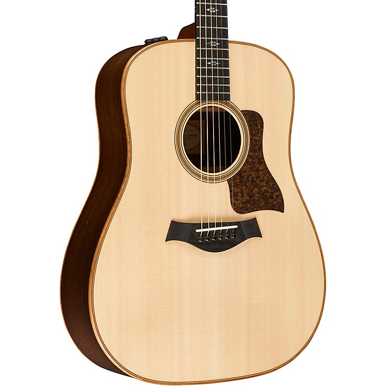 Taylor 700 Series 710e Dreadnought Acoustic-Electric Guitar Natural