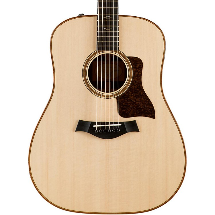 Taylor700 Series 710e Dreadnought Acoustic-Electric GuitarNatural