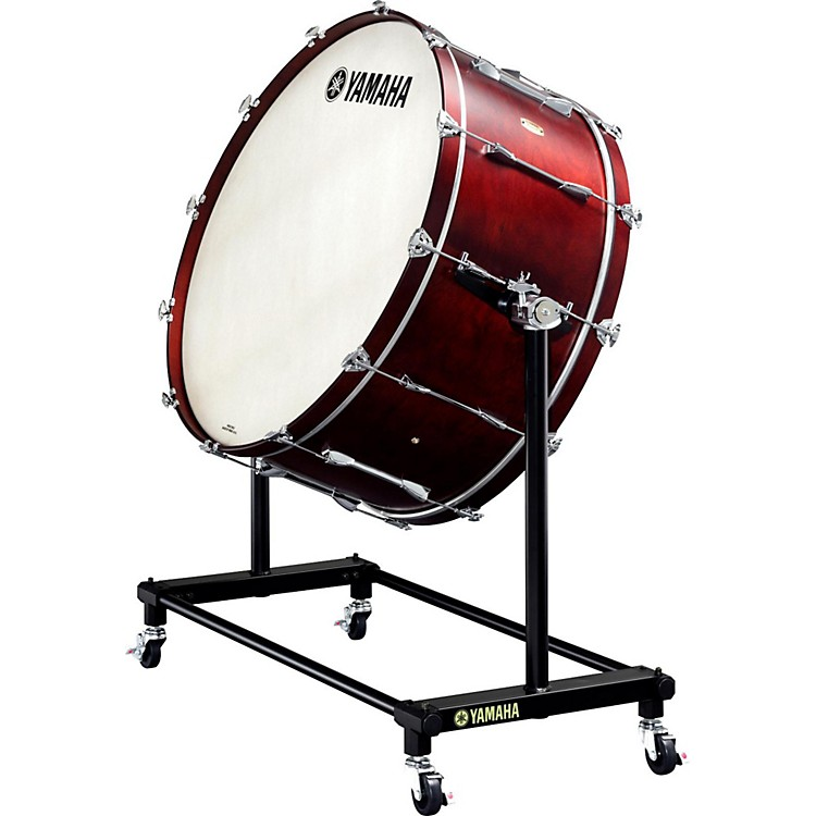 Yamaha7000 Series Intermediate Concert Bass Drum36 x 16 in.with BS-7053 Tiltable Stand and Cover