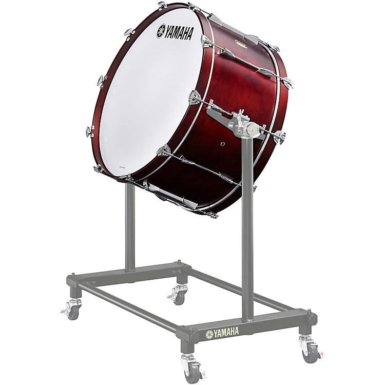 Yamaha 7000 Series Intermediate Concert Bass Drum 28 x 14 in. 10 one-piece lugs