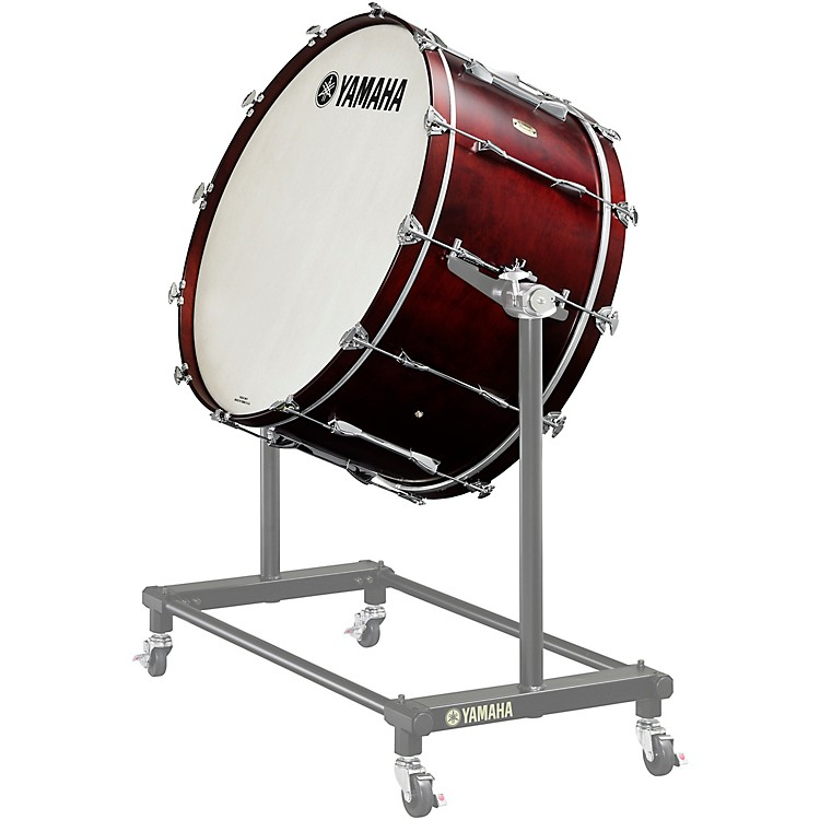 Yamaha 7000 Series Intermediate Concert Bass Drum 32 x 16 in. 12 one-piece lugs