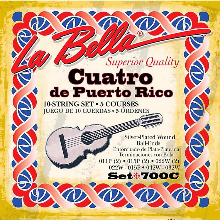 LaBella700C Puerto Rican Cuatro Strings