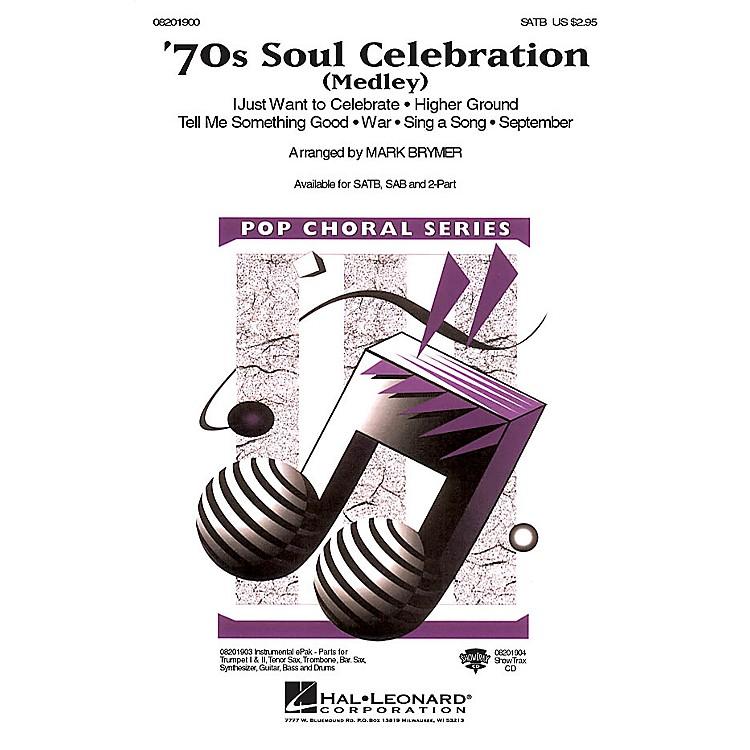 Hal Leonard70s Soul Celebration (Medley) 2-Part Arranged by Mark Brymer