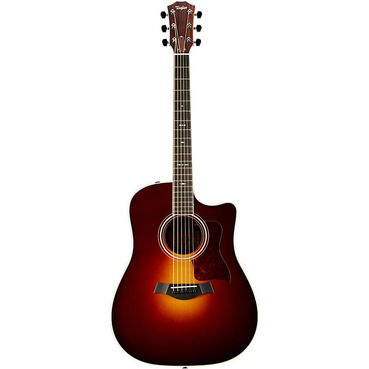Taylor710ce Rosewood/Spruce Dreadnought Acoustic-Electric Guitar
