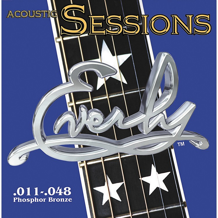Everly7211 Acoustic Sessions Phosphor/Bronze Light Acoustic Guitar Strings