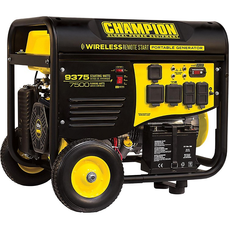 Champion Power Equipment7500 / 9375 Watt Portable Gas-Powered Remote Start Generator