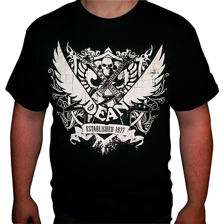 Dean77 Crest Black T-ShirtMedium