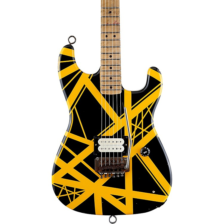 EVH'79 Bumblebee Electric GuitarBlack and Yellow