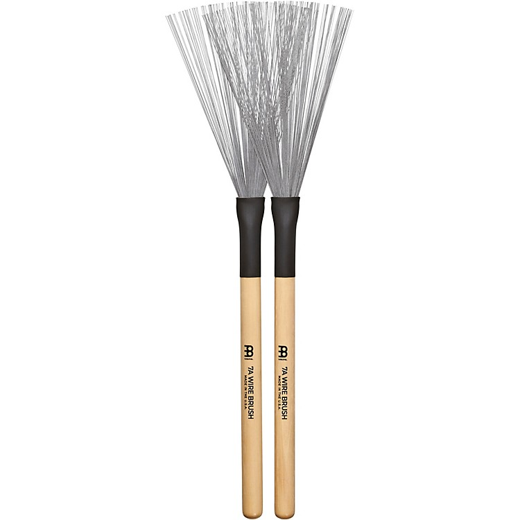 Meinl Stick & Brush 7A Fixed Wire Brushes