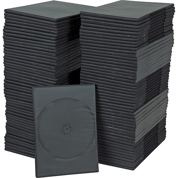 BK Media7mm Slim DVD Cases 100-pack