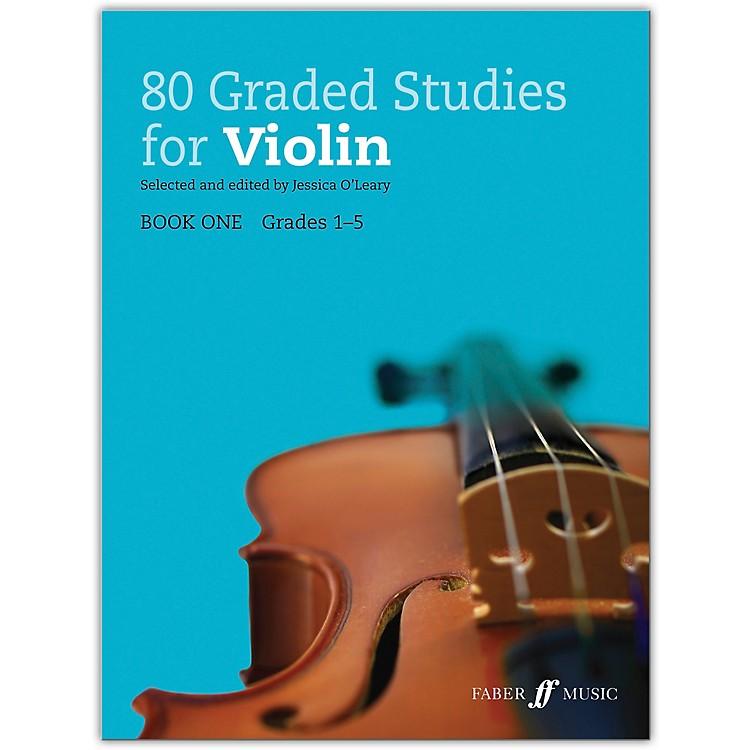 Faber Music LTD80 Graded Studies for Violin, Book One Grades 1-5