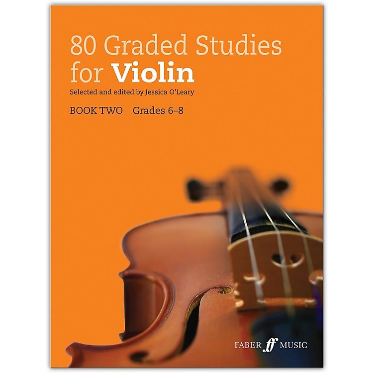 Faber Music LTD80 Graded Studies for Violin, Book Two Grades 6-8