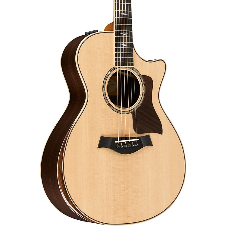 Taylor 800 Deluxe Series 812ce Grand Concert Acoustic-Electric Guitar Natural